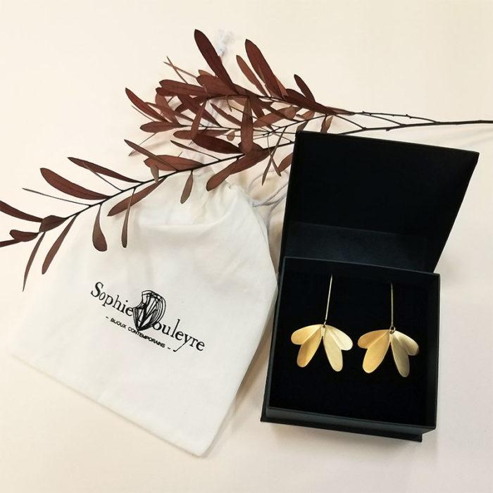 bijoux boucle d'oreille longue, bijouterie lyon