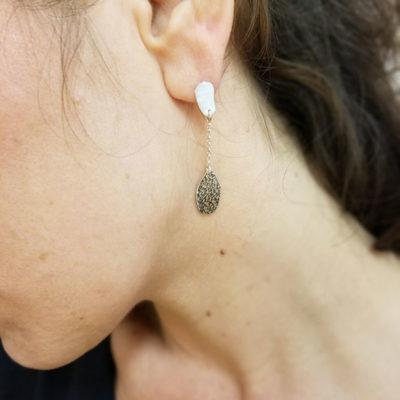 boucles d'oreilles lyon, bijoux créateur lyon, bijouterie