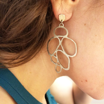 boucle d'oreille bijoux lyon créateur argent