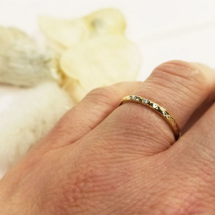 Alliance or argent bague lyon bijouterie bijou créateur mariage bijoutier